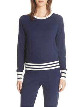 Axel Cropped Tennis Sweater by Equipment