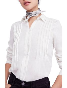 Breezy Mornings Linen Shirt by Free People