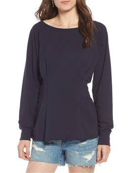 Cinched Waist Sweatshirt by Treasure & Bond
