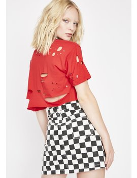 Get Like Me Checkered Skirt by Signature 8