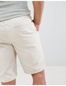 D Struct Elastic Waist Shorts by Shorts