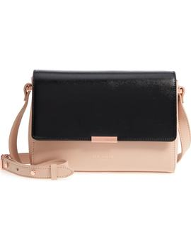 Demonda Faux Leather Crossbody Bag by Ted Baker London