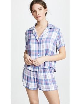 Short Sleeve Short Pj Set by Rails