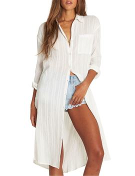 Beach Me Stripe Tunic by Billabong
