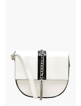Chunky Chain Tassel Detail Cross Body by Boohoo