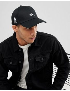 Jack & Jones Baseball Cap In Black by Jack & Jones