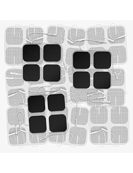 "Doneco 2"" Square Tens Unit Electrodes, 48 Pack Electro Pads For Tens Therapy   Universally Compatible With Most Tens Machine Models   48 Piece Value... by Doneco"