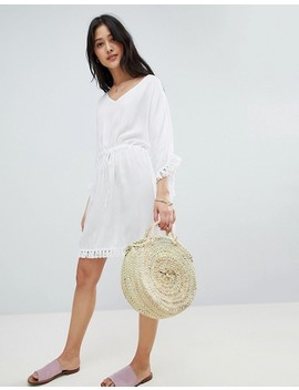 Akasa Tassel Edge Beach Cover Up by Akasa
