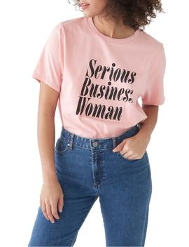 Serious Business Woman Classic Tee by Ban.Do