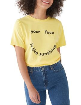 Your Face Is Like Sunshine Classic Tee by Ban.Do