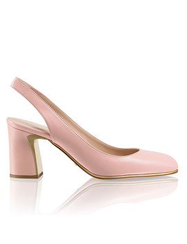 Inlay Heel Slingback by Layline