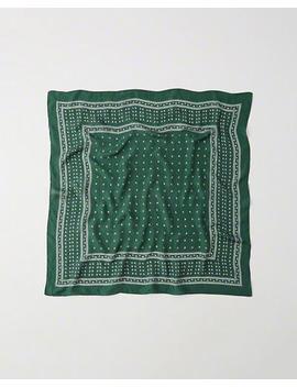 Silk Bandana Scarf by Abercrombie & Fitch
