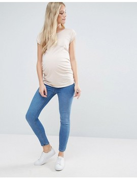New Look Maternity Under The Bump Blue Jegging by New Look Maternity