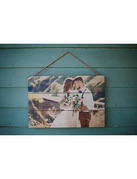 5th Anniversary Gift, Anniversary Photo On Wood, Wedding Picture On Wood, Wood Anniversary Gift, 5 Year Anniversary, Custom Anniversary Gift by Etsy