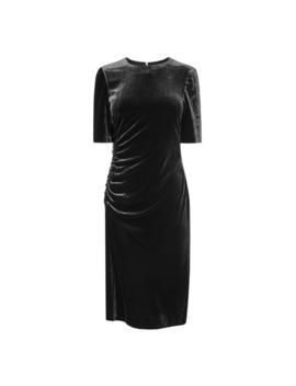 Kara Black Velvet Dress by L.K.Bennett