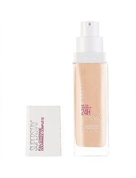 Maybelline Super Stay Full Coverage Foundation, Natural Ivory, 1 Fl. Oz. by Maybelline New York