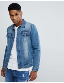 Brave Soul True Denim Jacket by Jacket