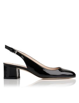 Chloe Black Patent Heel by L.K.Bennett