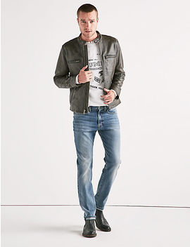 Leather Bonneville by Lucky Brand