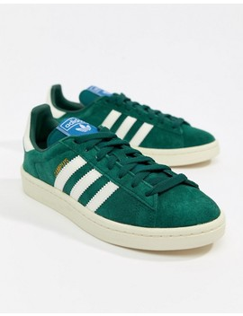 Adidas Originals   Campus   Sneakers In Groen by Asos