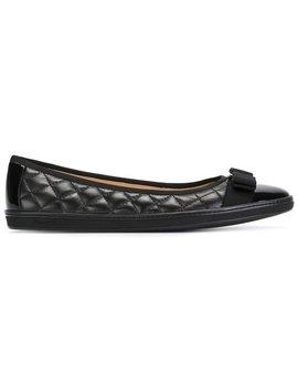 Rufina Ballerina Shoes by Salvatore Ferragamo