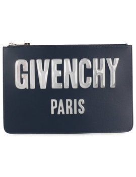 Logo Zipped Pouch by Givenchy