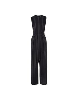 Elani Navy Stripe Jumpsuit by L.K.Bennett