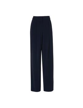 Reid Navy Wide Leg Pants by L.K.Bennett