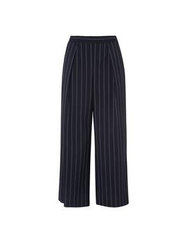 Elani Navy Stripe Pants by L.K.Bennett