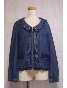 Axes Femme Denim Jacket Japanese Style Fashion Cute Sweet Dreamy 11 by Axes Femme
