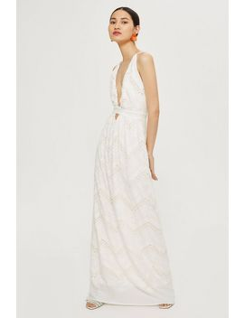 Halter Neck Bridal Gown By Flynn Skye by Topshop