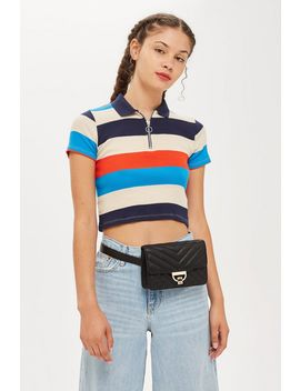 Quilted Bumbag by Topshop
