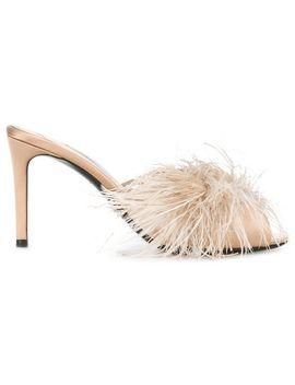 Pradafluffy Heeled Muleshome Women Shoes Mules by Prada