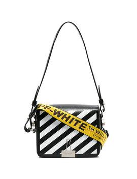 Off White Black Diagonal Binder Clip Shoulder Baghome Women Bags Shoulder Bags by Off White