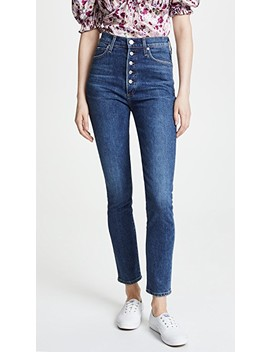 Olivia Exposed Fly Jeans by Citizens Of Humanity
