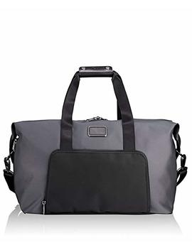 Tumi Alpha Double Expansion Travel Satchel Duffel Bag, Pewter, One Size by Tumi