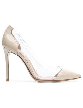 Gianvito Rossi Plexi Pumpshome Women Shoes Pumps by Gianvito Rossi