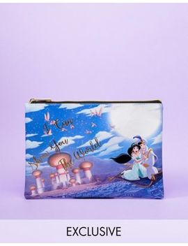 disney-jasmine-&-aladdin-travel-pouch by disney