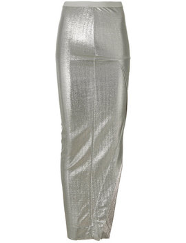 Rick Owens Lilieslong Asymmetric Fitted Skirthome Women Clothing Fitted Skirtsoversized Tank Toplong Asymmetric Fitted Skirt by Rick Owens Lilies