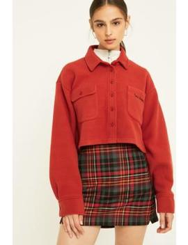 Uo Red Check Pelmet Skirt by Urban Outfitters