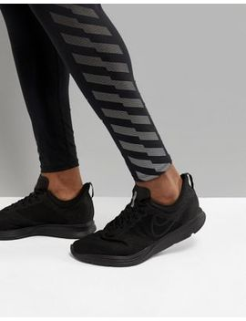 Nike Running Zoom Strike Sneakers In Triple Black Aj0189 010 by Nike