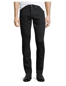 Slim Leg Jeans, Black by Tom Ford