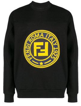Fendiroma 1925 Logo Sweatshirthome Men Clothing Sweatshirts by Fendi
