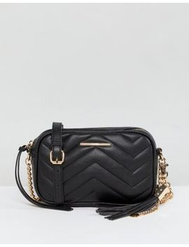 Aldo Mini Chevron Quilted Camera Bag by Aldo