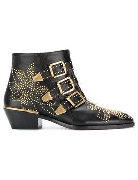 Chloésusanna Ankle Bootshome Women Shoes Boots by Chloé