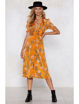 Key West Floral Dress by Nasty Gal