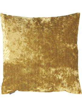 Amber Velvet Cushion 58x58cm by Paoletti