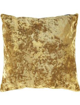 Amber Neptune Velvet Cushion 58x58cm by Paoletti