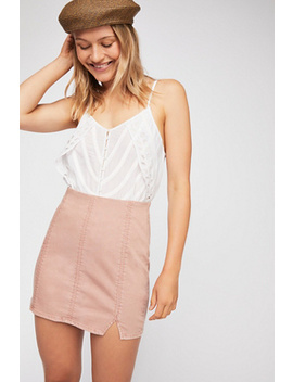 Femme Fatal Pull On Skirt by Free People