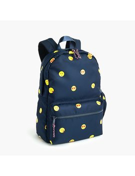 Kids' Emoji Print Backpack by J.Crew